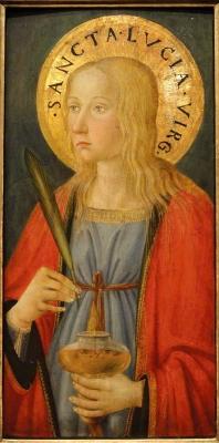 SANTA LUCIA, Cosimo Rosselli 1470