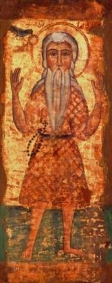PAOLO DI TEBE, icona copta