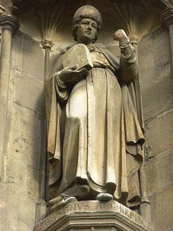 Statua di AGOSTINO, Cattedrale di Canterbury