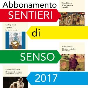 Abbonamento sentieri di senso anno 2017