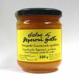 Salsa di peperoni gialli