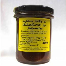 Confettura extra di Rabarbaro con rosmarino