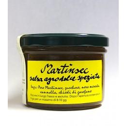 Martin sec - salsa agrodolce speziata