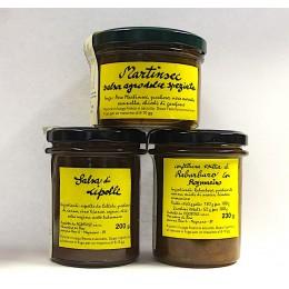 Terzetto - cipolle rabarbaro martinsec