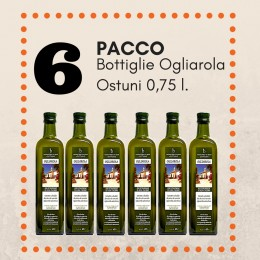 Pacco 6 bottiglie Ogliarola