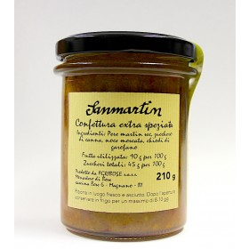Sanmartin Confettura di pere extra speziata