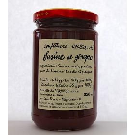 Confettura extra di Susine al ginepro