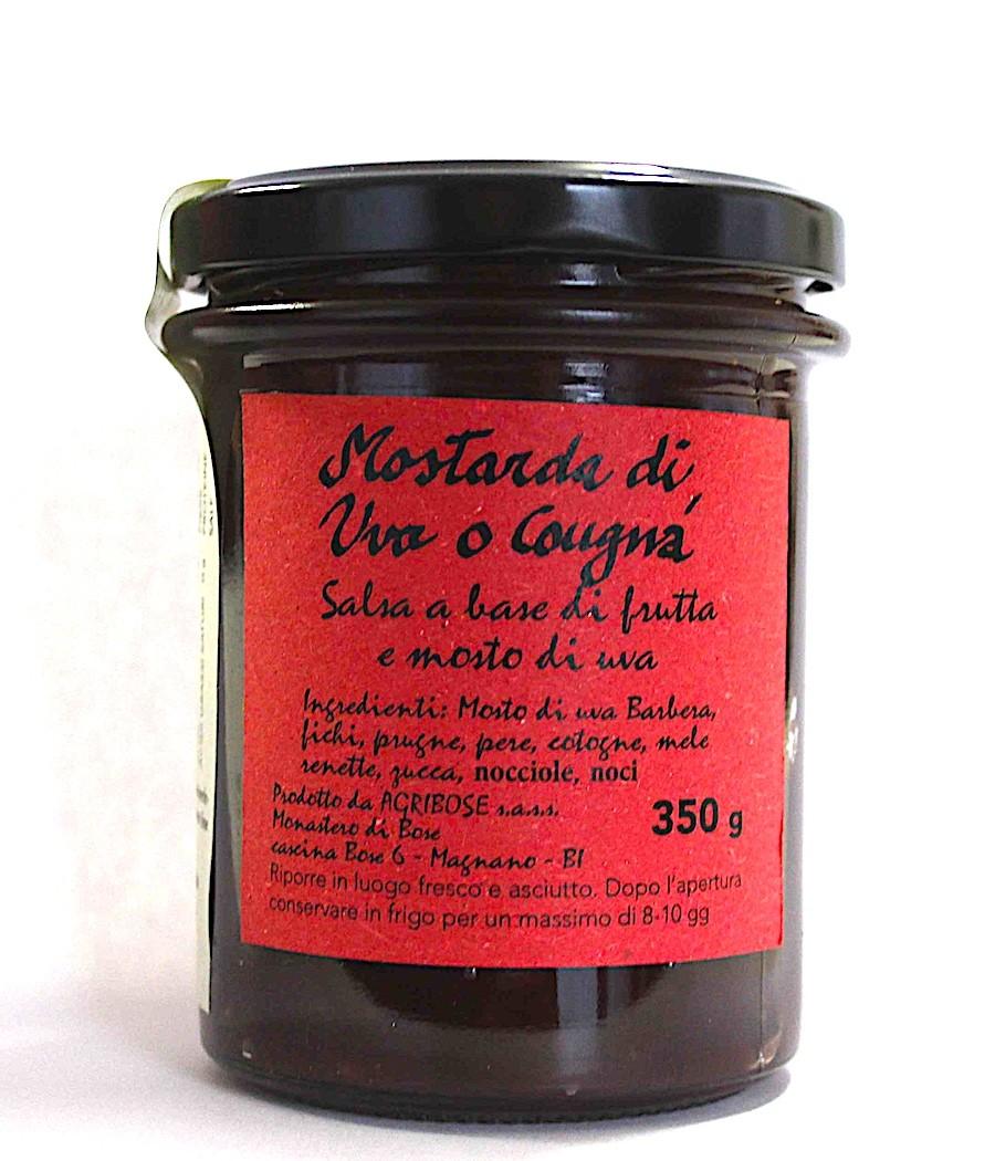 Mostarda di uva o Cougnà