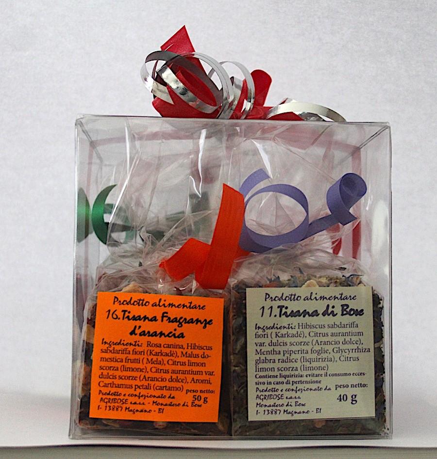 Quartetto tisane - Pacco regalo