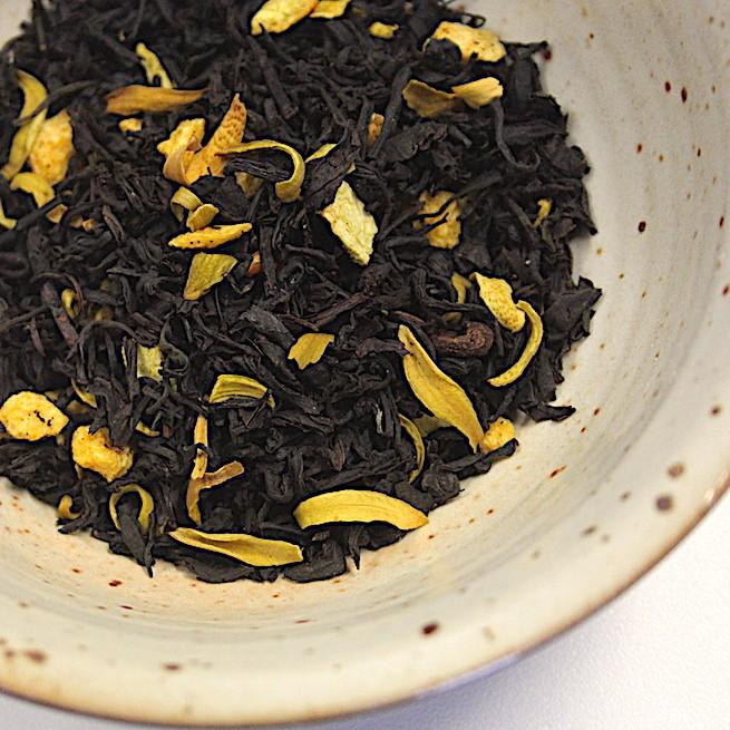 Tè nero all'arancio