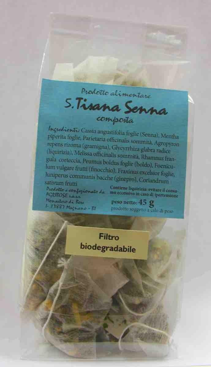 Tisana Senna - 5 (Depurativa) in filtri