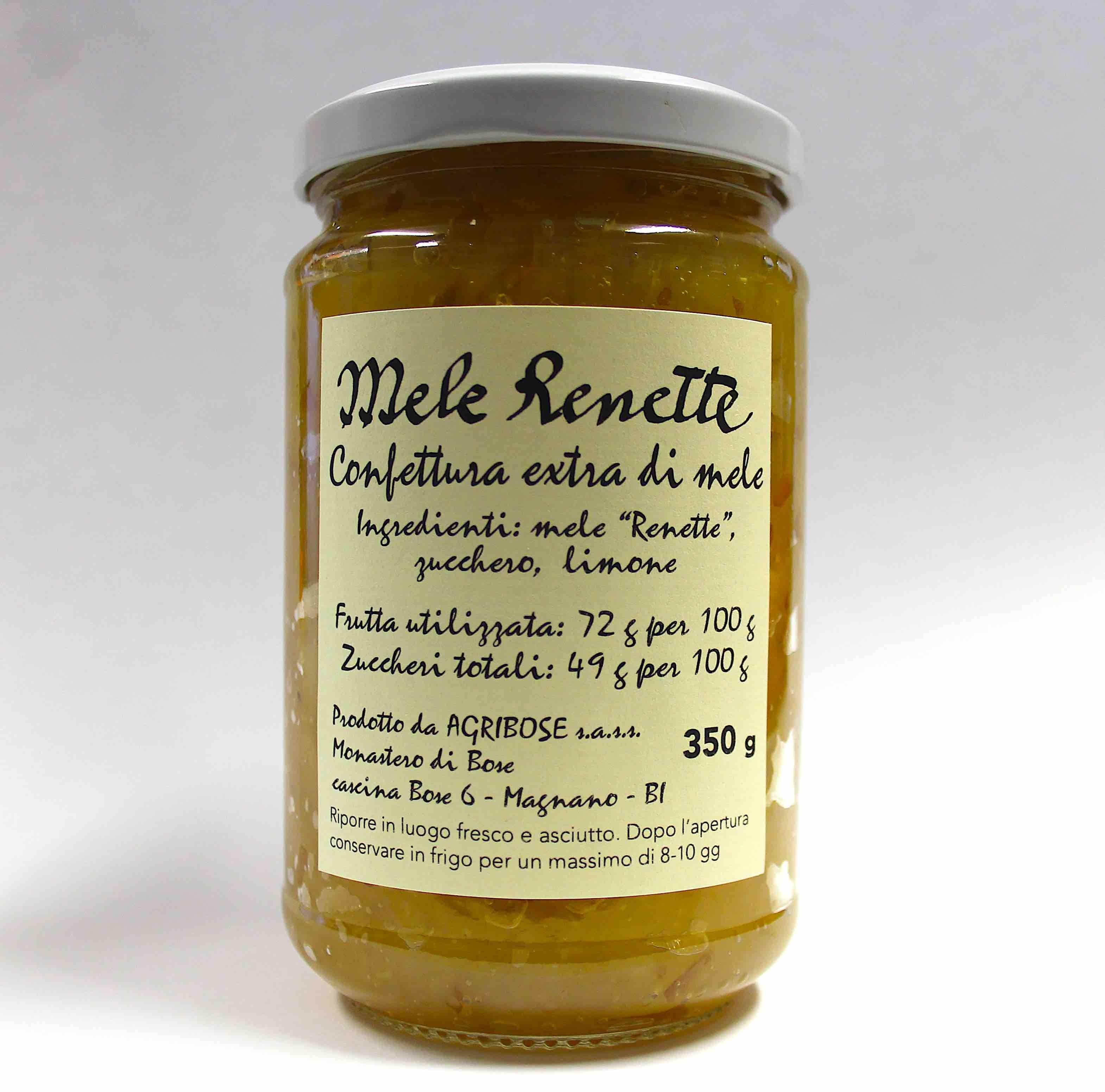 Mele Renette - Confettura extra di mele