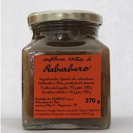 Confettura extra di Rabarbaro