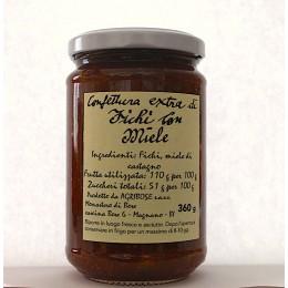Confettura extra di fichi con miele